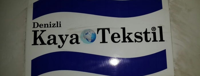 Kaya Tekstil is one of DENİZLİ BÖLGESİ, TEKSTİL&KONFEKSİYON İMALATÇILARI.