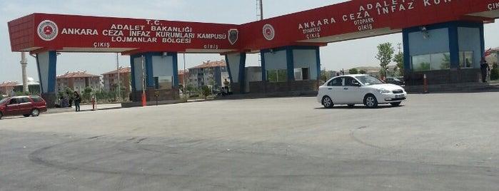 Ankara Ceza İnfaz Kurumları Kampüsü is one of สถานที่ที่บันทึกไว้ของ Hakan.