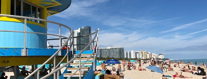 Miami Beach is one of Miami.