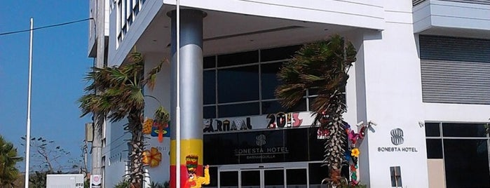 Sonesta Hotel is one of Orte, die Natalie gefallen.