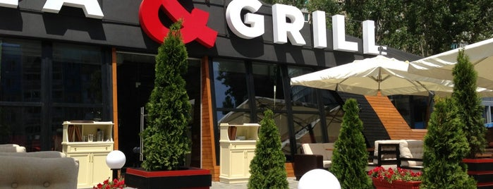Pizza & Grill is one of Lugares favoritos de Петр.