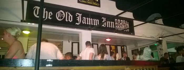 The Old Jamm Inn is one of The Dog's Bollocks' Bim (Barbados).