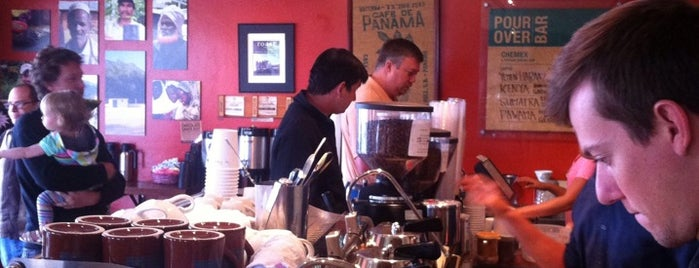 Bird Rock Coffee Roasters is one of San Diego's best Spots = Peter's Fav's.