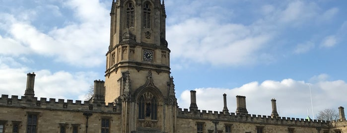 Tom Tower is one of Oxford.