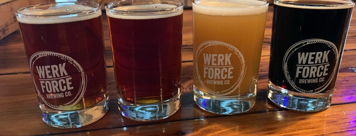 Werk Force Brewing Co. is one of Todo: Chicago.