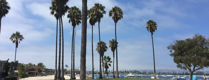 Mission Beach Park is one of InSite - San Diego.