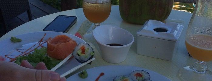 Akumal Sushi Beach Bar is one of Anapaula : понравившиеся места.