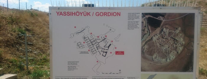 Gordion is one of Orte, die Fatih gefallen.