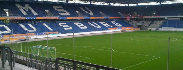 Schauinsland-Reisen-Arena (MSV Arena) is one of Rheinschafe on a map.