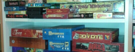 Flatlandia is one of Board Game Cafes.