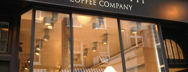 Monmouth Coffee Company is one of London with Mike.