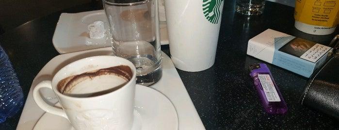Starbucks is one of Good spots..