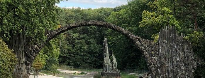 Rakotzbrücke is one of Miki's Saved Places.