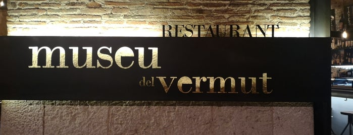 Museu del Vermut is one of Restaurants fora BCN.