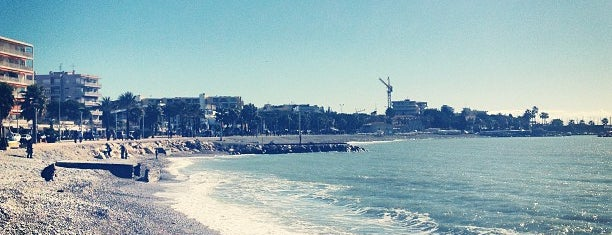 Plage de Cagnes-sur-Mer is one of Nizza.