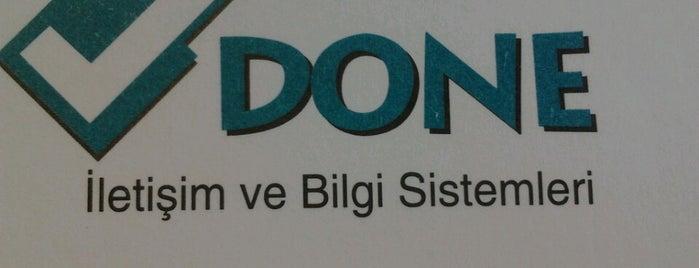 Done İletişim ve Bilgi Sistemleri A.Ş is one of Orte, die Figen gefallen.