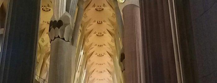 Sagrada Família is one of Orte, die Figen gefallen.
