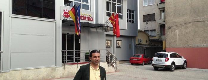 Hotel Hamburg is one of สถานที่ที่บันทึกไว้ของ Gülten.