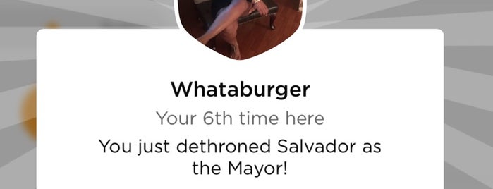 Whataburger is one of Tellie's Liked Places.