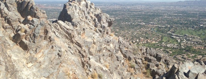 Top Of Piestewa Peak is one of Outdoors.