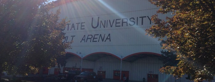 Holt Arena is one of NCAA Division I Basketball Arenas/Venues.