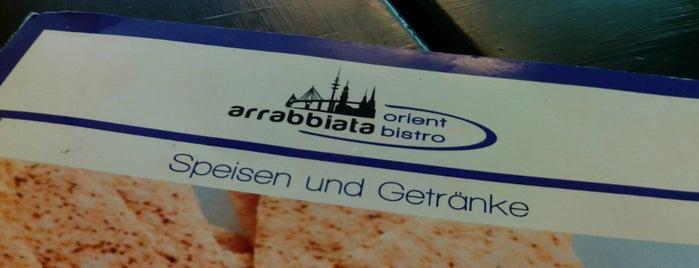 Arrabiata Orient Bistro is one of Locais curtidos por Jana.