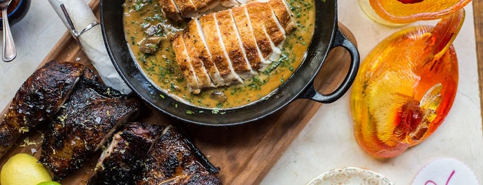 Dirty French is one of Eater's Three- and Four-Star Restaurants in NYC.