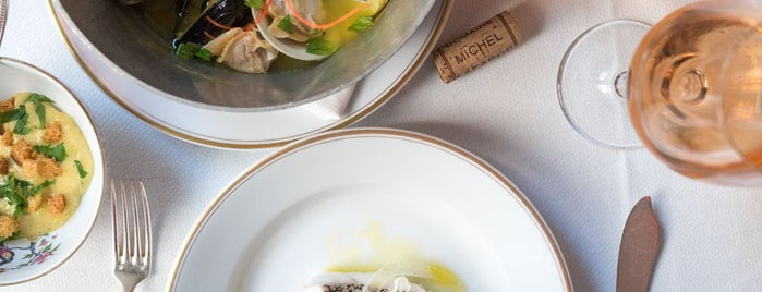 Le Coucou is one of Eater's Three- and Four-Star Restaurants in NYC.