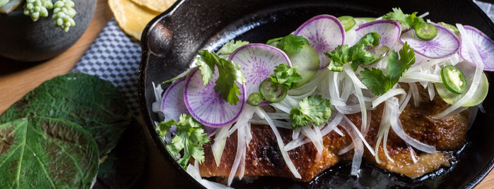 Cosme is one of Eater's Three- and Four-Star Restaurants in NYC.