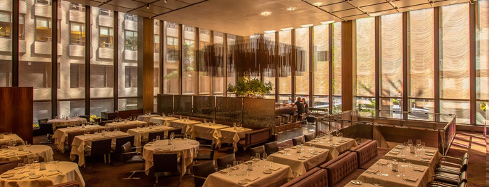 The Grill is one of Eater's Three- and Four-Star Restaurants in NYC.