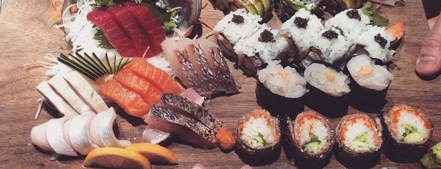 Blue Ribbon Sushi is one of NYC Sushi and Robatayaki.