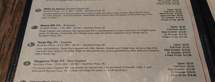 Southern Pines Brewing Company is one of Breweries or Bust 2.