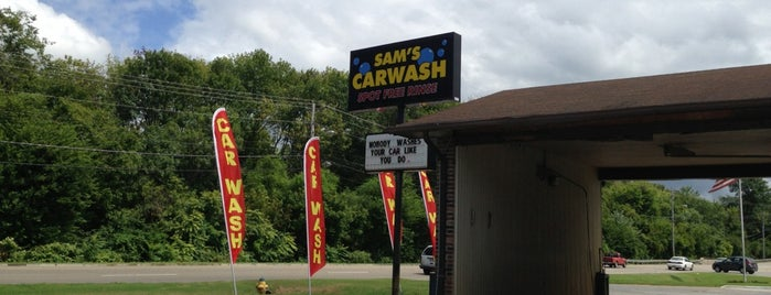 Sam's Car Wash is one of Scrub A Dub Dub.