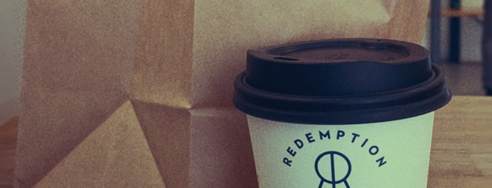 Redemption Roasters is one of London Mornings.
