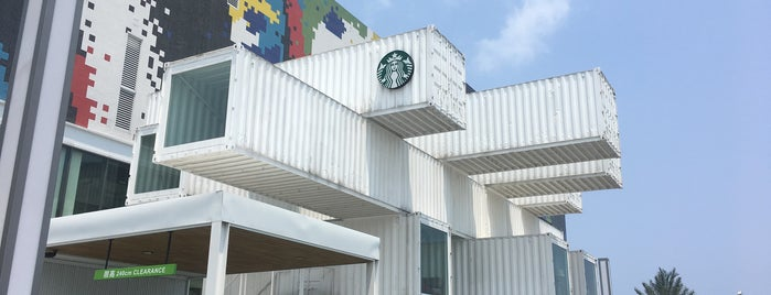 Starbucks 星巴克 洄瀾門市 is one of Taiwan Coffee Map.
