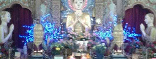 Dhammikarama Burmese Buddhist Temple (缅佛寺) is one of PENANG PLACES.