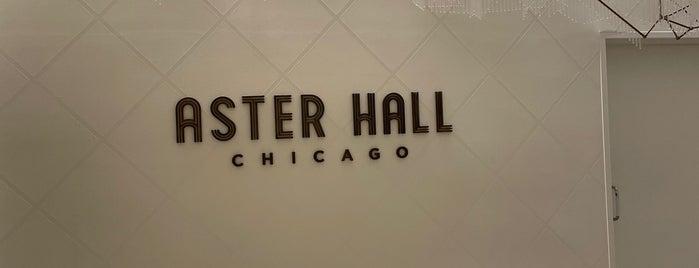 Aster Hall is one of Tempat yang Disimpan Joey.