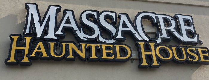The Massacre Haunted House is one of Guide to Chicagoland's best spots.
