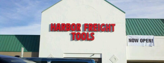 Harbor Freight Tools is one of สถานที่ที่ Nathan ถูกใจ.