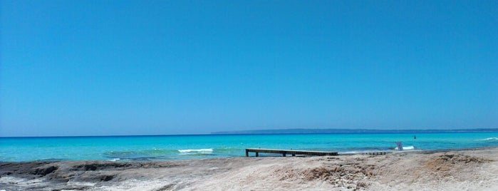 Es Copinyar is one of Formentera.