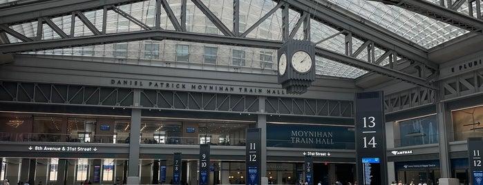 Moynihan Train Hall is one of NYC 2021.