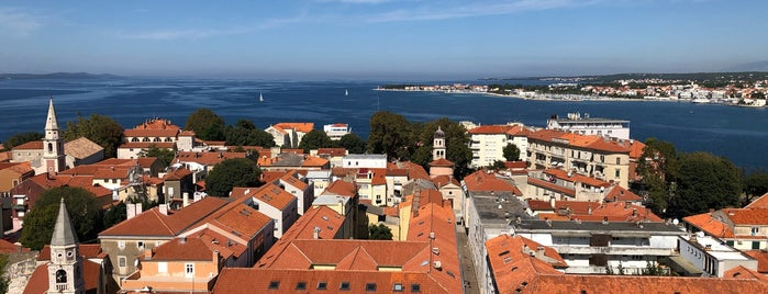 Tower of Anastasia is one of Zadar.