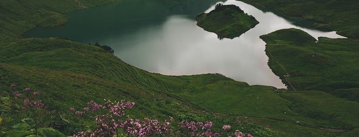 Schrecksee is one of Alpes bavaroises et Tyrol autrichien.