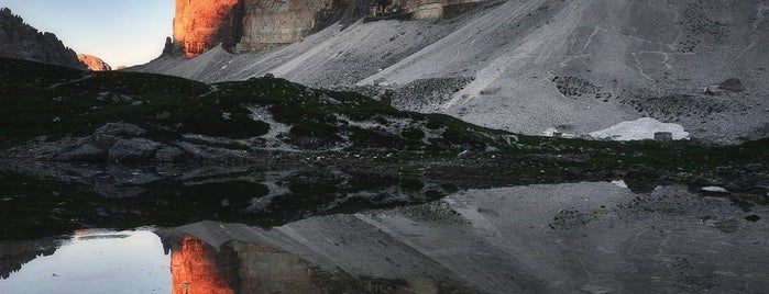 Drei Zinnen / Tre Cime di Lavaredo / Three Peaks is one of Marcellaさんのお気に入りスポット.