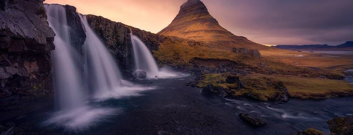 Kirkjufellsfoss is one of Lugares favoritos de Carlos.