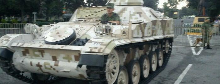 Campo Militar No. 1 is one of Tempat yang Disukai Isa.