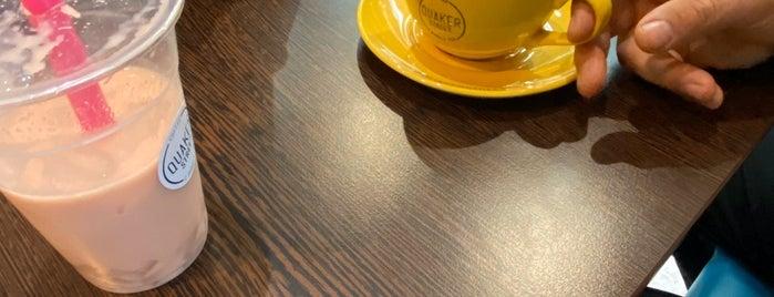 Quaker Street Coffee & Bubble Tea is one of London 🇬🇧 Coffee & treats.