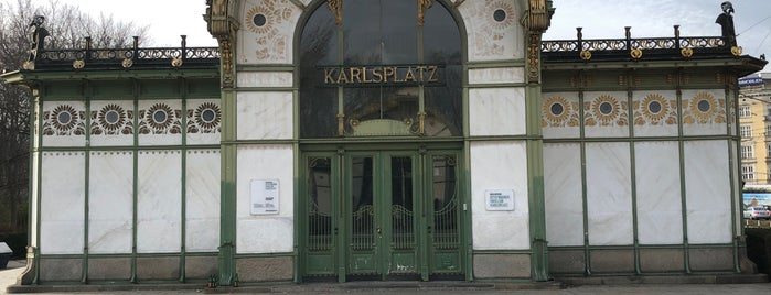 Otto-Wagner-Pavillon is one of Vienna.