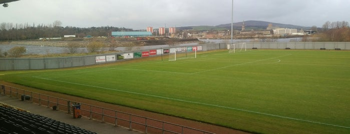 Dumbarton Football Stadium is one of Sporting Venues....