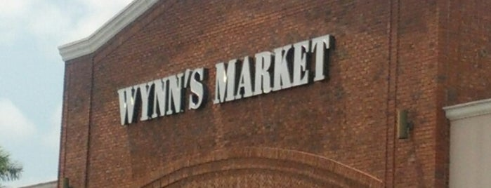 Wynn's Market is one of Thomas 님이 저장한 장소.